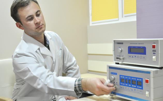 Апарат комплексного лікування захворювань простати