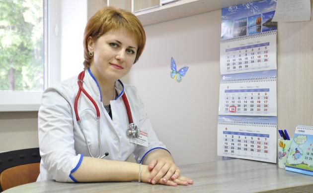 Сімейний лікар у Полтаві - Юлія Хижняк